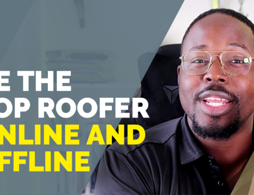 Roofer Tips: Balancing Online Lead Gen and Word-Of-Mouth